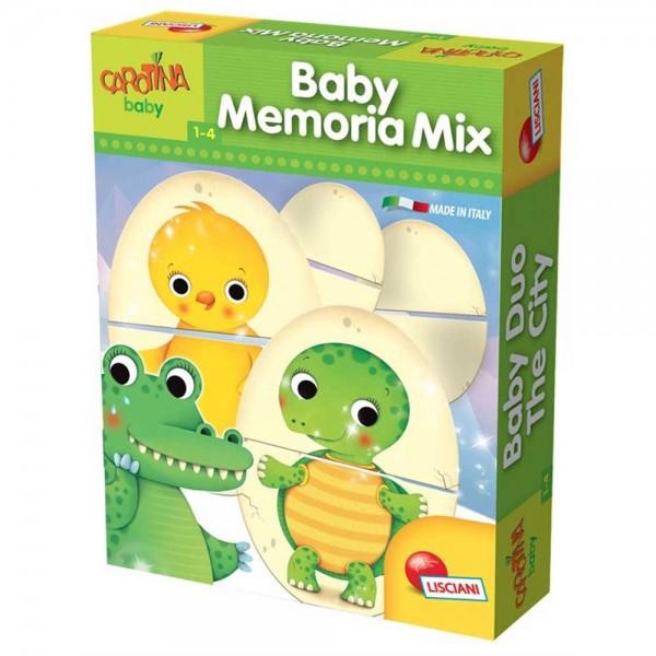 Edukativna slagalica baby životinje Lisciani 58600 - ODDO igračke
