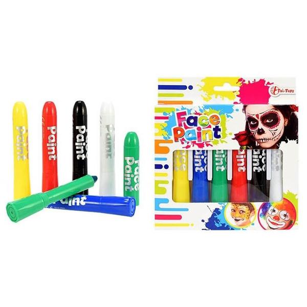 Set kreda boja za lice Lets Paint 45001 - ODDO igračke