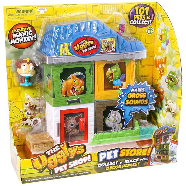 Figura i velika kućica sa zvukom Ugglys pet shop 1003181 - ODDO igračke