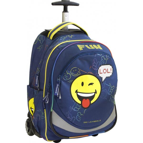 Trolley ranac Smiley Boy 52533  - ODDO igračke