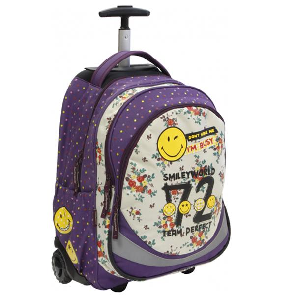 Trolley ranac Smiley 52541 - ODDO igračke