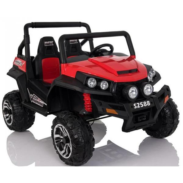Auto na akumulator Jeep Polaris dvosed crveni 24V 626081 - ODDO igračke