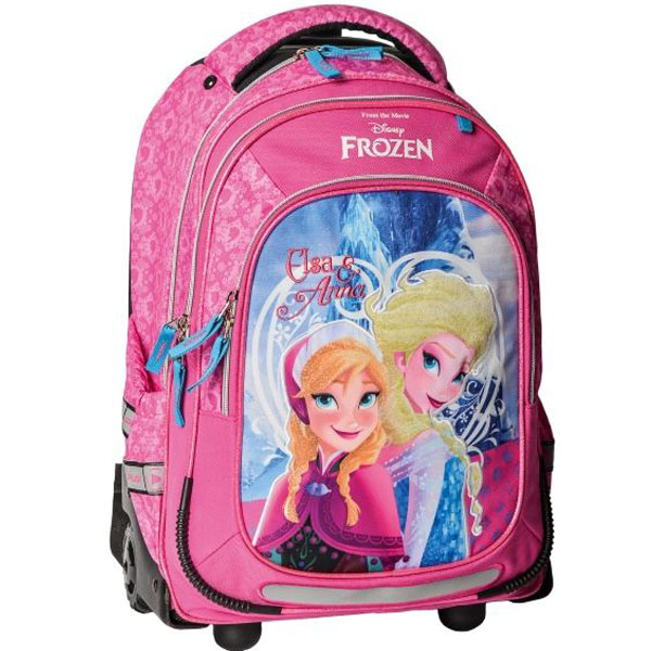 Ranaci sa točkićima Trolley Frozen pink 322004 - ODDO igračke