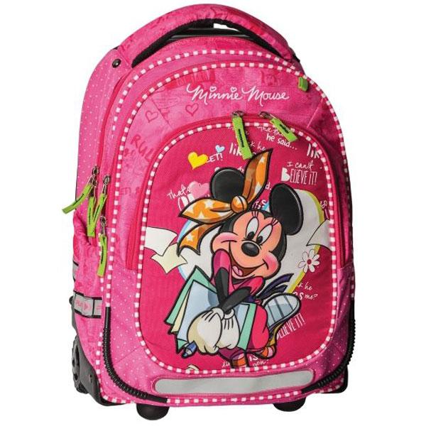 Trolley ranac sa točkićima, Minnie Mouse Books 318002 - ODDO igračke