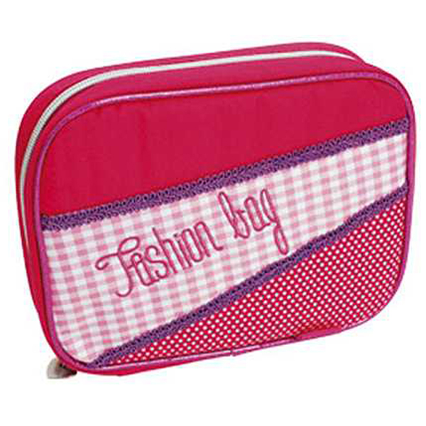 Pernica Connect puna 1 zip 2 preklopa Fashion bag 15 roze - ODDO igračke