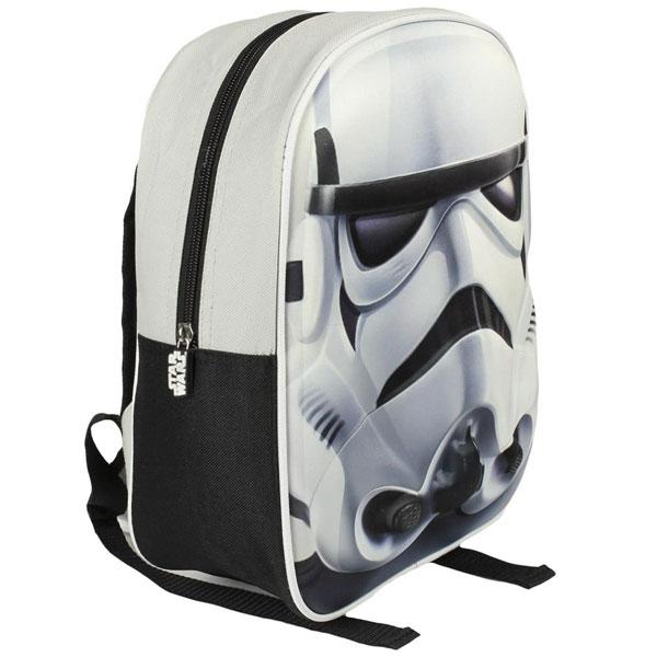 Ranac predškolski3D Star Wars Cerda belo-crni 2100000877 - ODDO igračke