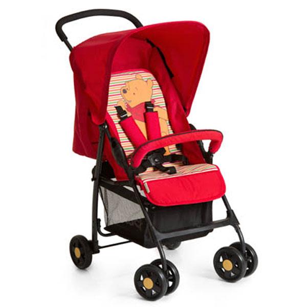 Kolica za bebe Sport Pooh Spring Brights crvena Hauck 5020635 - ODDO igračke