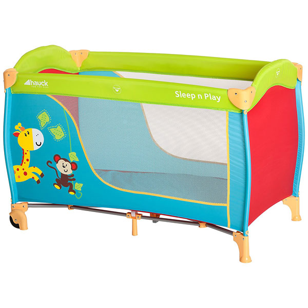 Prenosivi krevetac Sleep n Play Jungle fun Hauck 5170178 - ODDO igračke