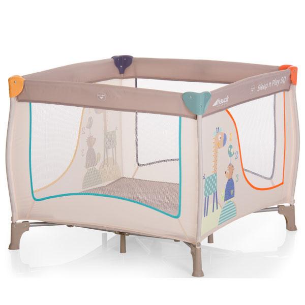 Prenosivi krevetac ogradica SNP Square animals Hauck 5310124 - ODDO igračke