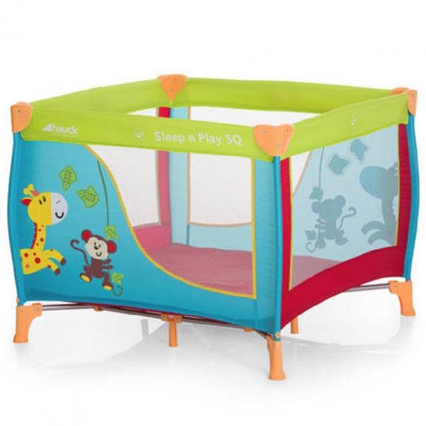 Prenosivi krevetac ogradica SNP Square jungle Hauck 5310123 - ODDO igračke