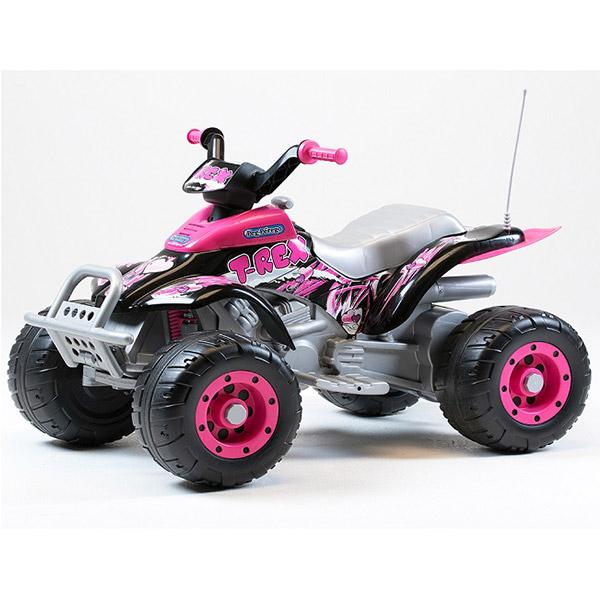 Auto na akumulator Peg Perego Corral T-Rex Pink P70120073 - ODDO igračke