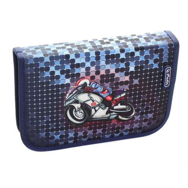 Pernica Herlitz puna 1 zip 2 preklopa Motorbike 11412236 - ODDO igračke