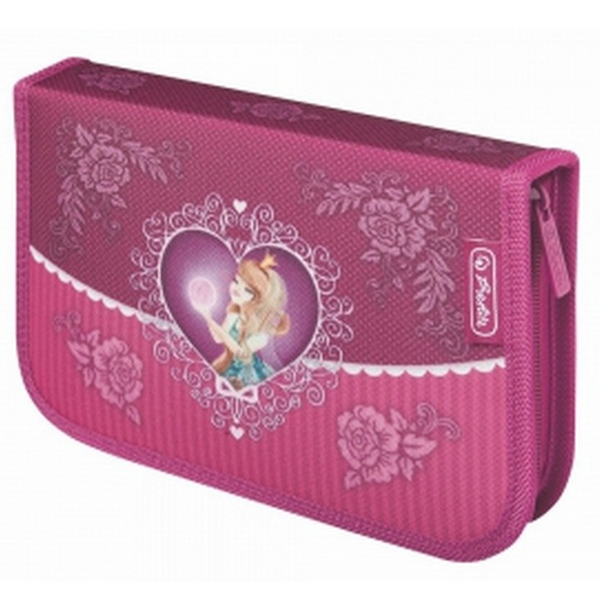 Pernica Herlitz puna 1 zip 2 preklopa Magic Princess 11438587 - ODDO igračke