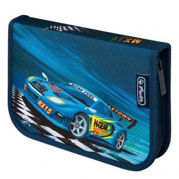Pernica Herlitz puna 1 zip 2 preklopa Super Racer 11438652 - ODDO igračke