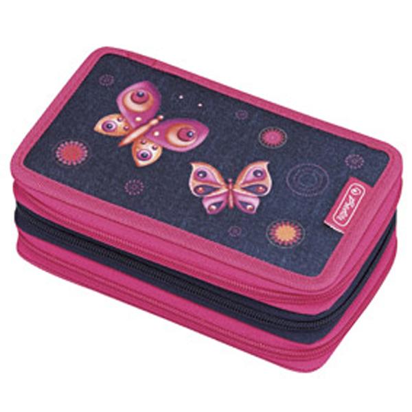 Pernica Herlitz puna 3 zipa 3 preklopa Butterfly dreams 11438710 - ODDO igračke