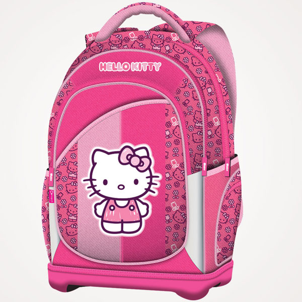 Ranac đački anatomski lagan Hello Kitty Pink 16.Connect roze 607656 - ODDO igračke