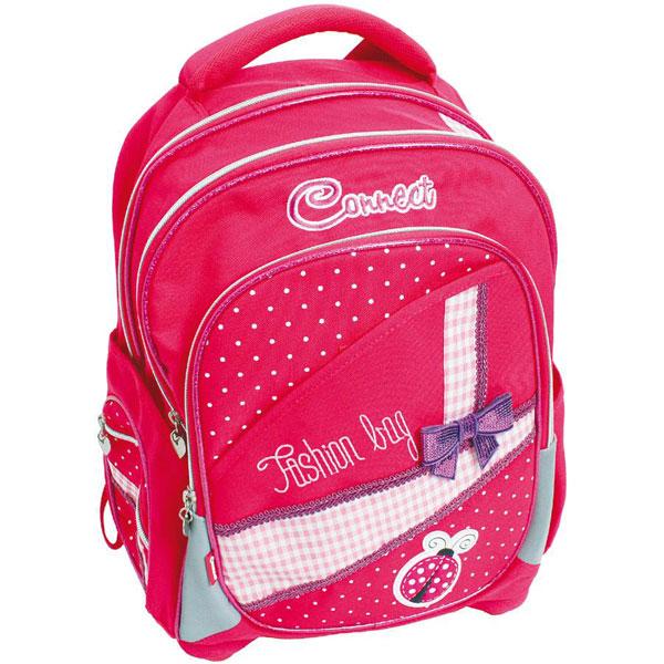 Ranac đački anatomski Fashion bag 15.Connect roze 305631 - ODDO igračke