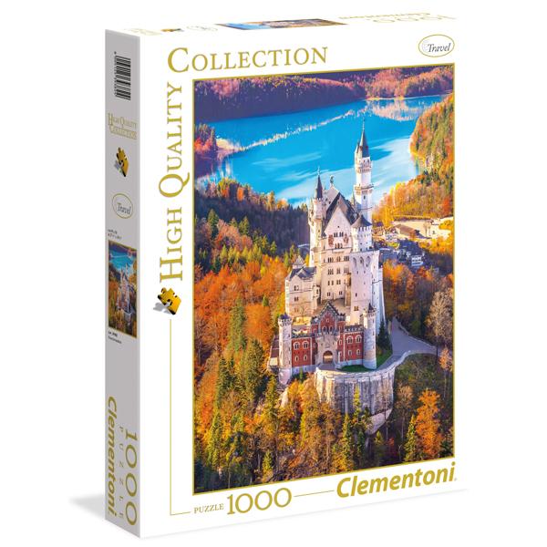 Clementoni Puzzla Castle Neuschwanstein 1000pcs 39382 - ODDO igračke