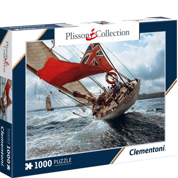 Clementoni puzzla Plisson: Sail ship Velsheda 1000 pcs 39389 - ODDO igračke