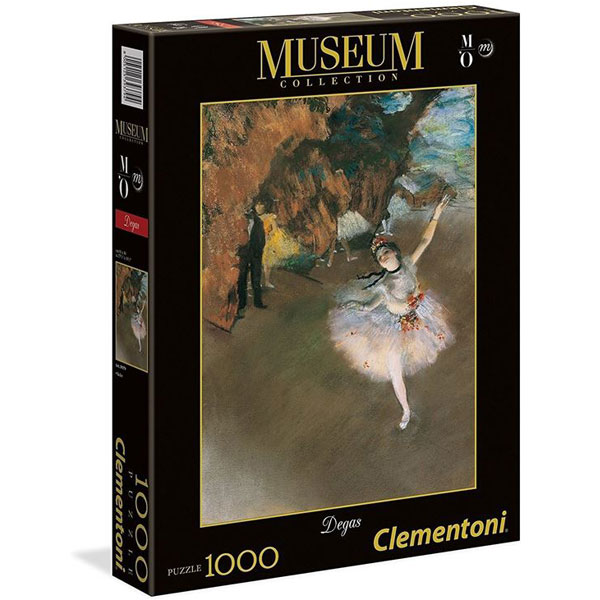 Clementoni puzzla Dega The Star 1000 pcs 39379 - ODDO igračke