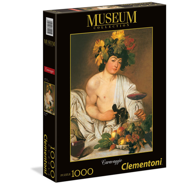 Clementoni puzzla Caravaggio Bacco 1000pcs 31445 - ODDO igračke