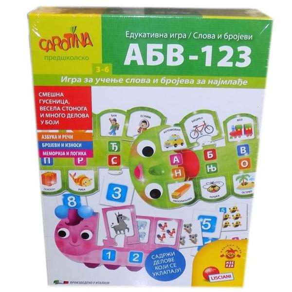 Edukativna igra ABV-123 RS63079 - ODDO igračke