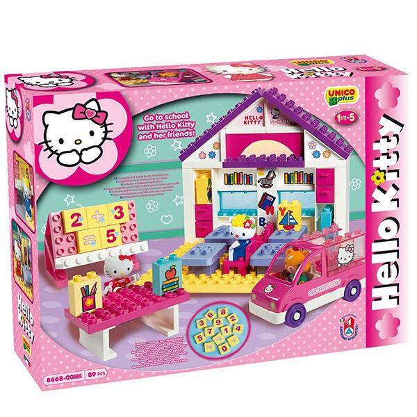 Kocke Hello Kitty Škola 886682 - ODDO igračke