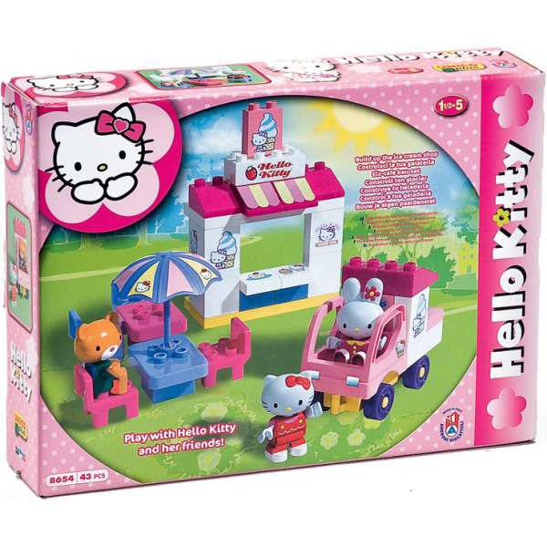 Kocke Hello Kitty Prodavnica sladoleda 886545 - ODDO igračke