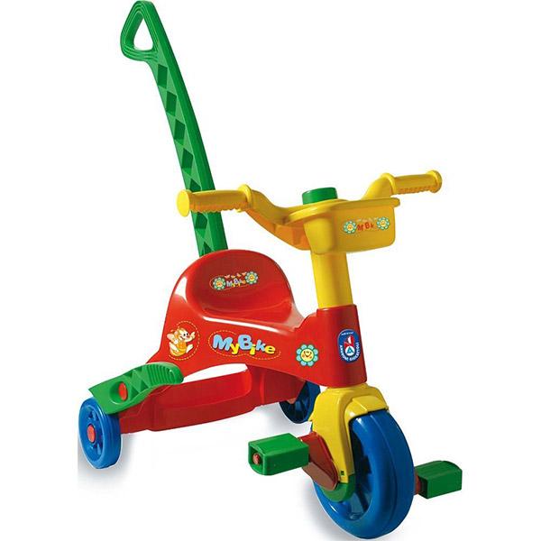 Tricikl sa ručkom 064202 - ODDO igračke