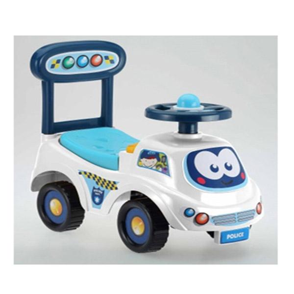 Dečija guralica Policija, bela KY71119 - ODDO igračke