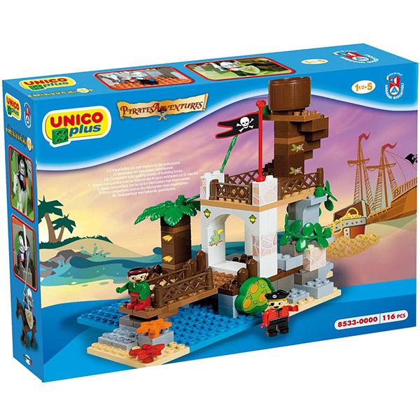 Kocke Piratski toranj 085337 - ODDO igračke