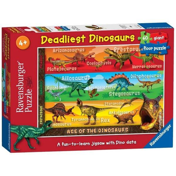 Ravensburger puzzle (slagalice) - Dinosaurusi 2 RA05393 - ODDO igračke