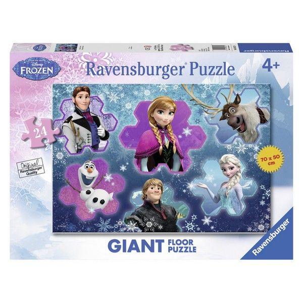 Podna Floor Puzzla Ravensburger Frozen u oblacima  - ODDO igračke