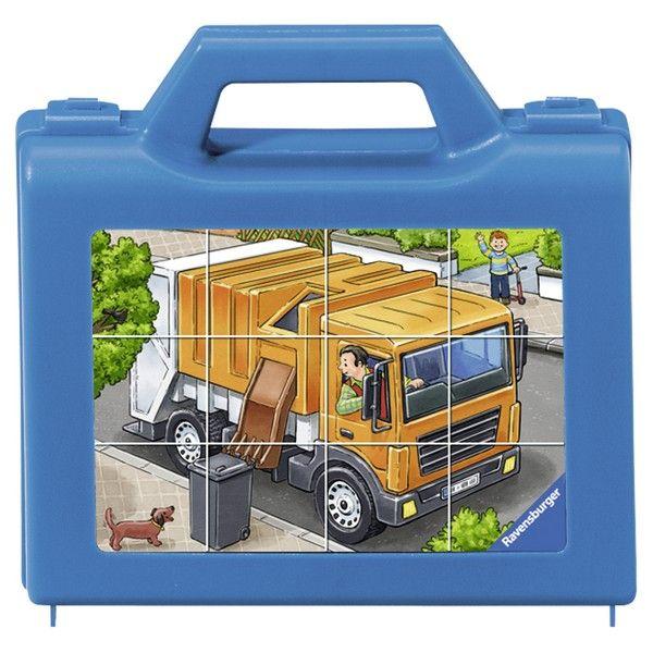 Ravensburger puzzle (slagalice) - Puzle-kockice, kamion RA07406 - ODDO igračke