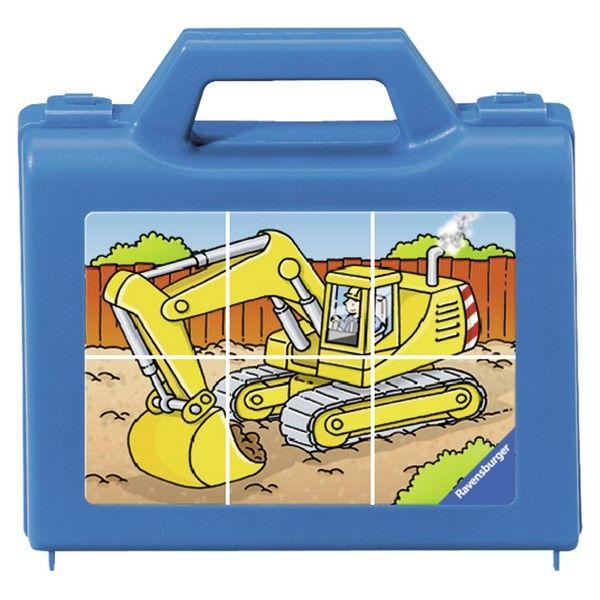 Ravensburger puzzle (slagalice) - Puzle-kockice, bager RA07470 - ODDO igračke