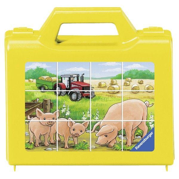 Ravensburger puzzle (slagalice) Puzle kockice životinje na farmi RA07471 - ODDO igračke