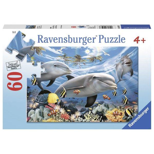 Ravensburger puzzle (slagalice) - Delfini RA09593 - ODDO igračke