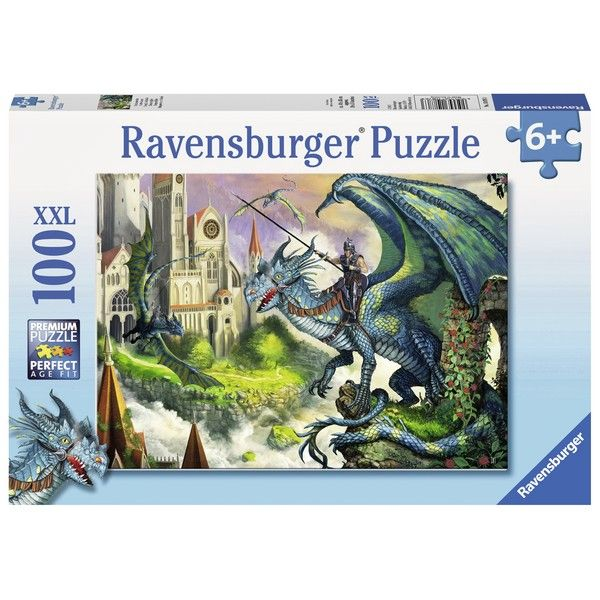 Ravensburger puzzle (slagalice) - Jahac zmaja - ODDO igračke