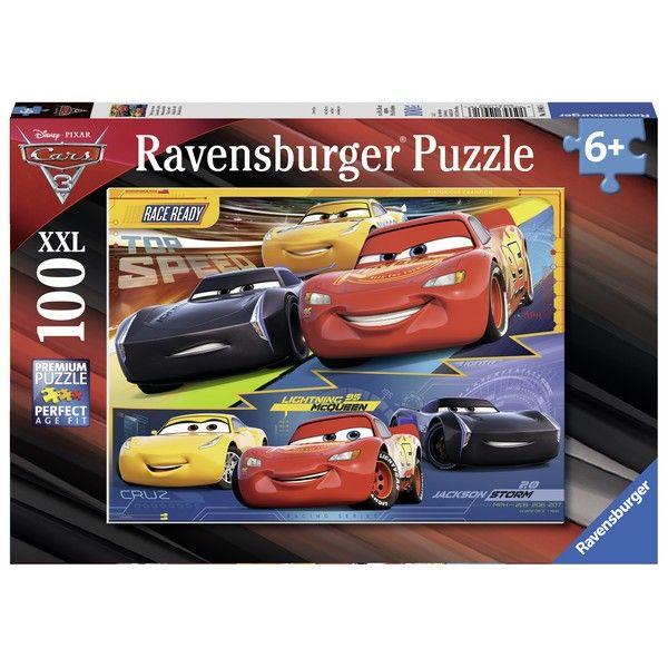 Ravensburger puzzle (slagalice) 100XXL Cars 6 autića RA10961 - ODDO igračke