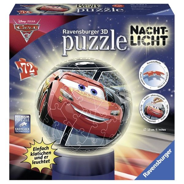 Ravensburger puzzle (slagalice) 72pcs Cars RA11816 - ODDO igračke