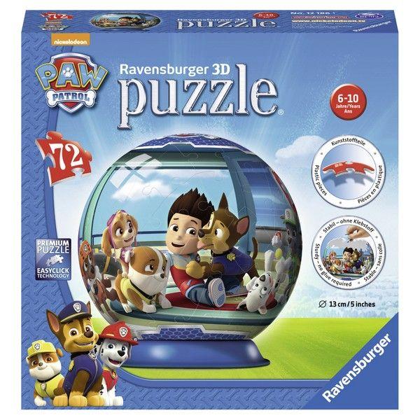 Ravensburger 3D puzzle (slagalice) Paw patrol RA12186 - ODDO igračke