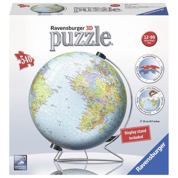 Ravensburger 3D puzzle (slagalice) Globus RA12436 - ODDO igračke