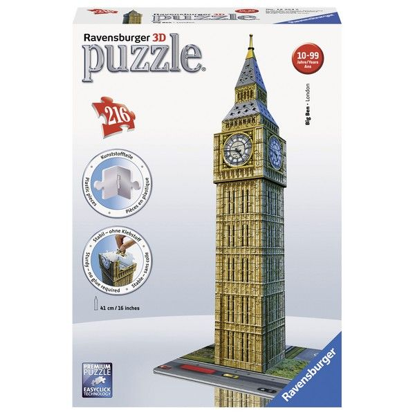 Ravensburger 3D puzzle (slagalice) 216pcs Big Ben RA12554 - ODDO igračke