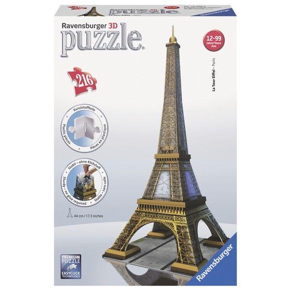 Ravensburger 3D puzzle (slagalice) Ajfelova kula RA12556 - ODDO igračke