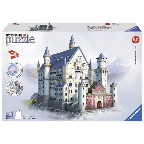 Ravensburger 3D puzzle (slagalice) 216pcs Zamak Nojsvanštajn RA12573 - ODDO igračke