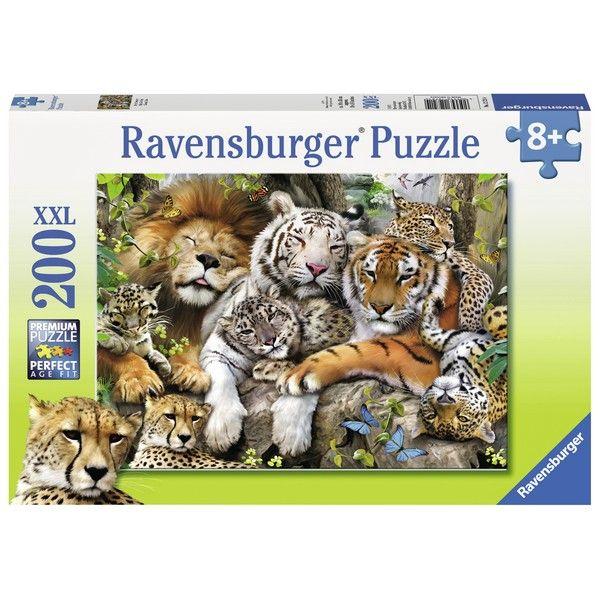 Ravensburger puzzle (slagalice) 200XXL Velike mačke dremaju RA12721 - ODDO igračke