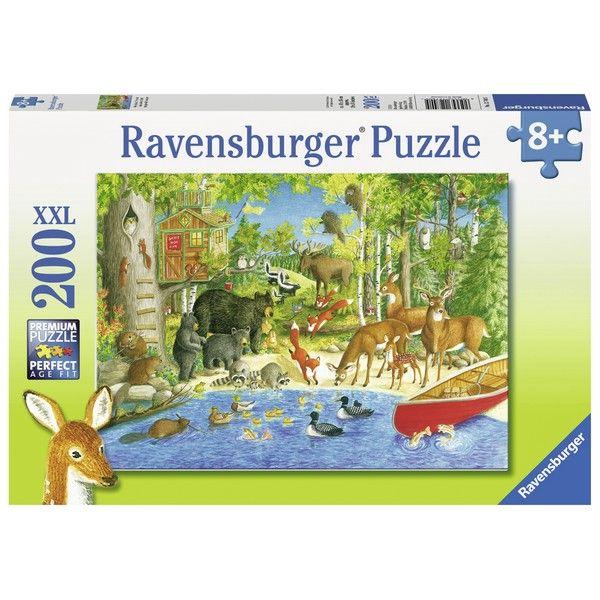Ravensburger puzzle (slagalice) 200XXL  Zivotinje RA12740 - ODDO igračke