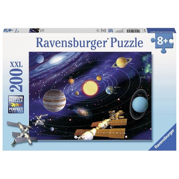 Ravensburger puzzle (slagalice) 200XXL Svemir RA12796 - ODDO igračke