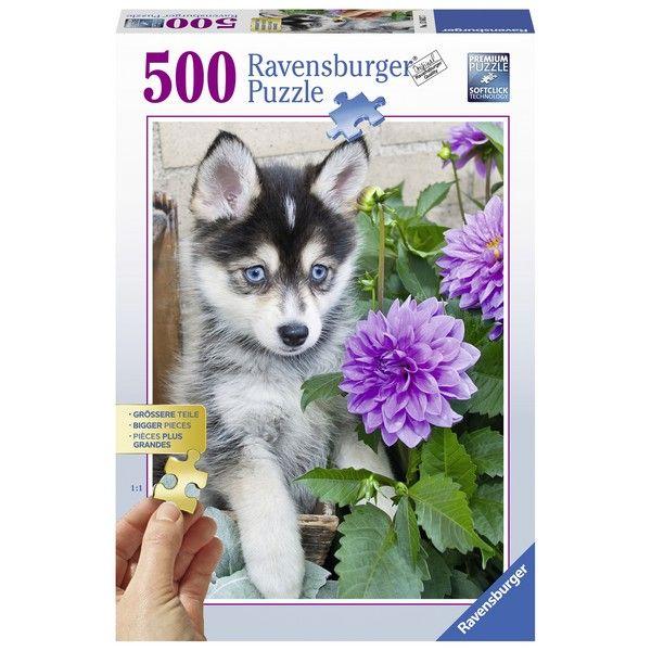 Ravensburger puzzle (slagalice) 500pcs Haski RA13682 - ODDO igračke