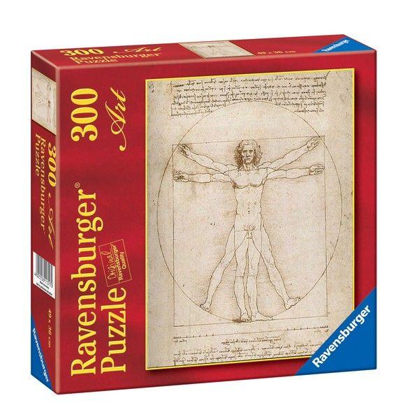 Ravensburger puzzle Leonardo da Vinci The Vitruvian Man RA14012 - ODDO igračke